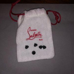 Handbags - Christian Louboutin dust bag with 5 black spikes